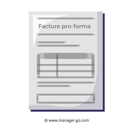 Facture pro-forma : définition et modèle