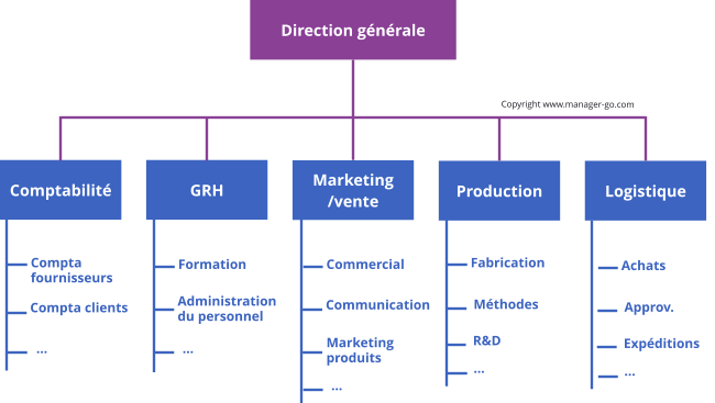 Exemple d'une structure fonctionnelle